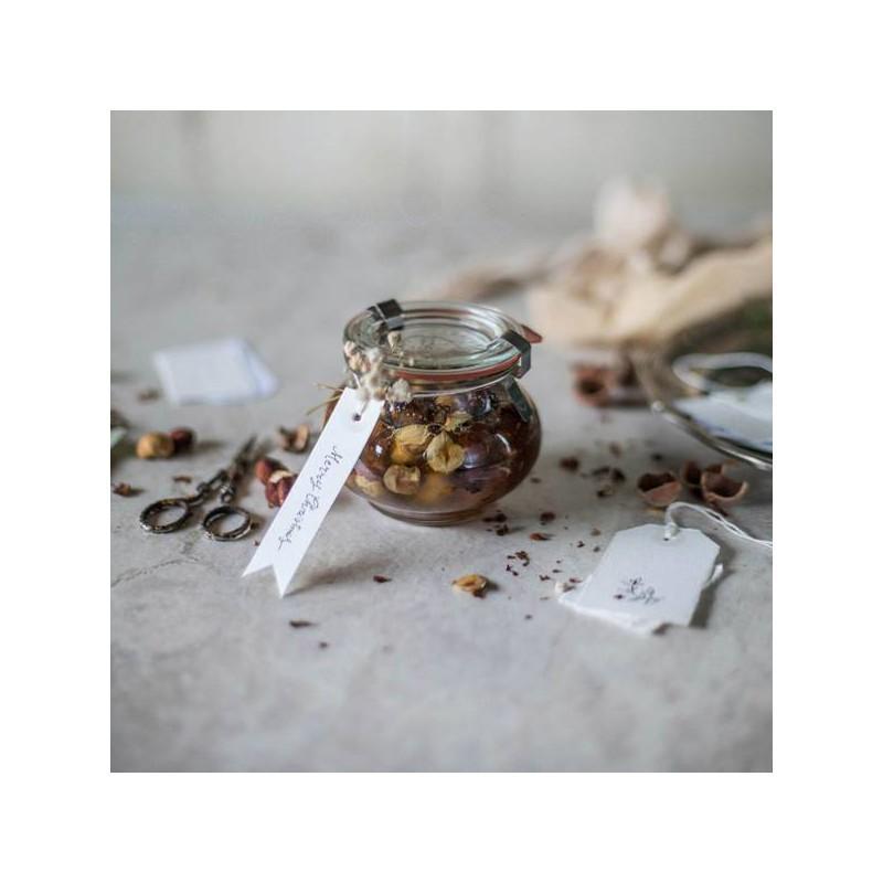Tarros WECK FÊTE® - 12 tarros en vidrio WECK Fête® 220 ml con tapas en vidrio y gomas (clips no