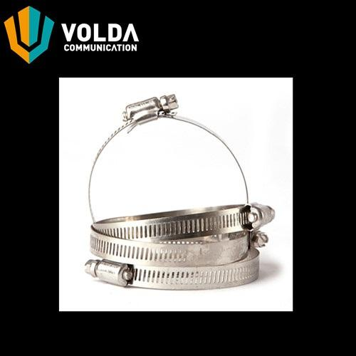 Stainless Steel Hose Clamp - Round Member Adapter