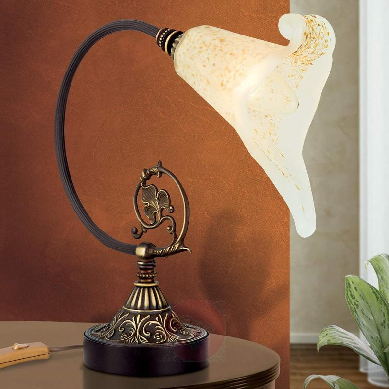Perfectly-shaped table lamp Tosca - Table Lamps