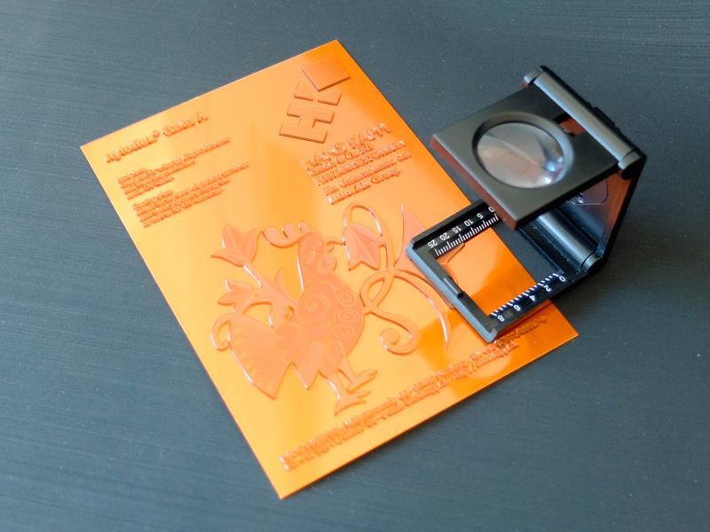 Digital photopolymer varnishing plates - Varnishing plates