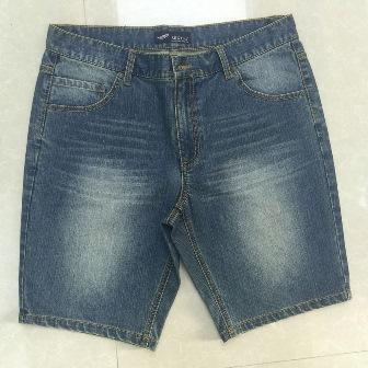 Pantalones cortos de mezclilla -
