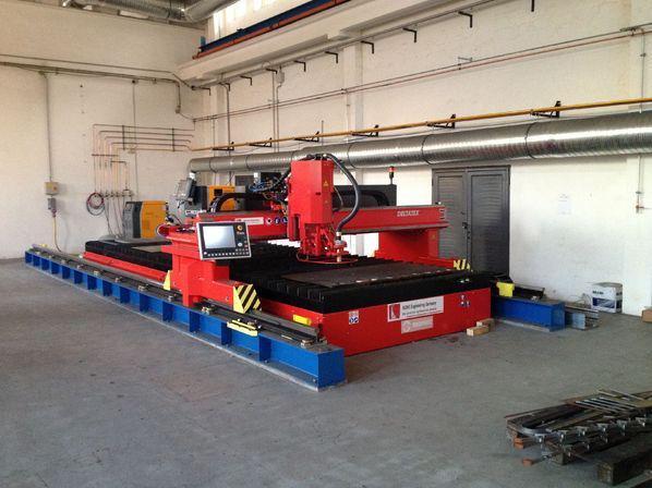 CNC MACHINE - CNC MACHINE DELTATEX