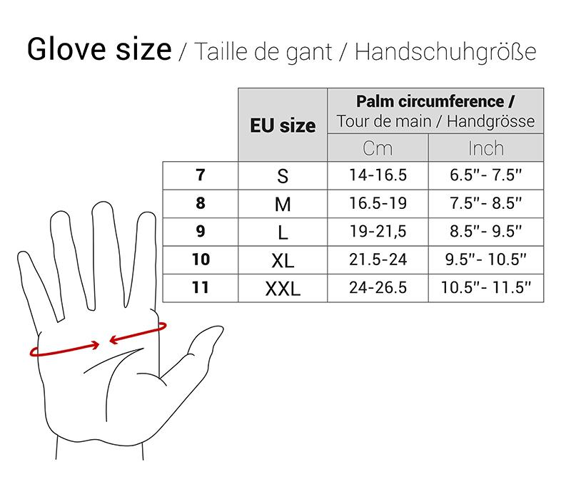 Heavy Duty Gloves With Pigskin Palm - In stock