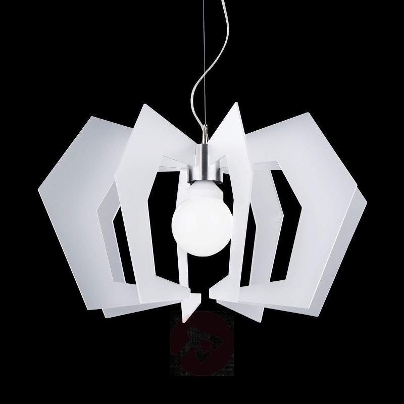 Innovative designer hanging light Spider, white - Pendant Lighting