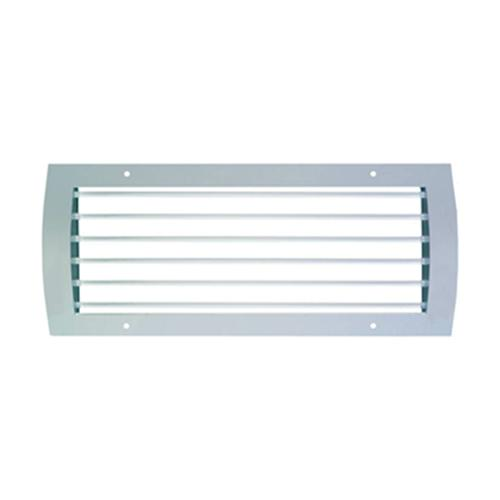 Ventilation grilles for spiral ducts with vertical... - null