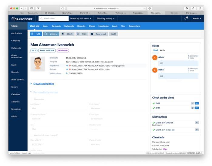 Η πλατφόρμα SaaS για ιδρύματα μικροχρηματοδοτήσεων - Η πλατφόρμα λειτουργεί ως αυτοματοποιημένος μεταφορέας πίστωσης πλήρους κύκλου