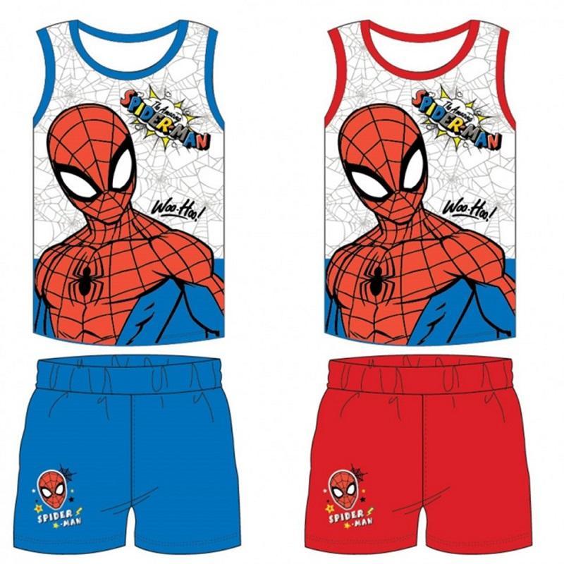 Wholesaler kids clothing licenced Marvel Spiderman - Summer Set