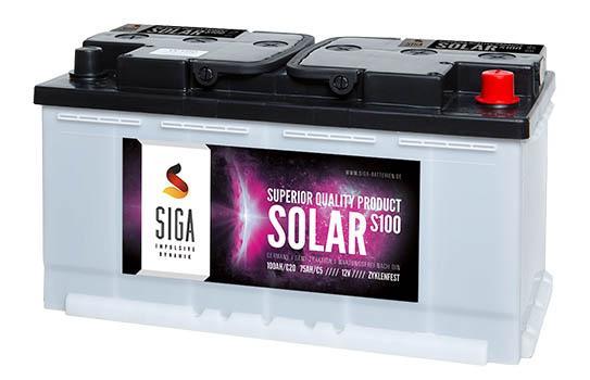 SIGA SOLAR Solarbatterien