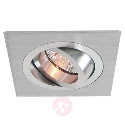 pivotable aluminium recessed light, matt aluminium - Low-Voltage Spotlights
