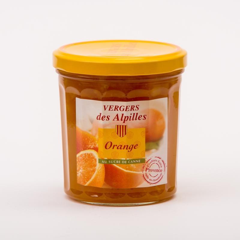 Vergers des Alpilles - Orange - Confitures au sucre de canne