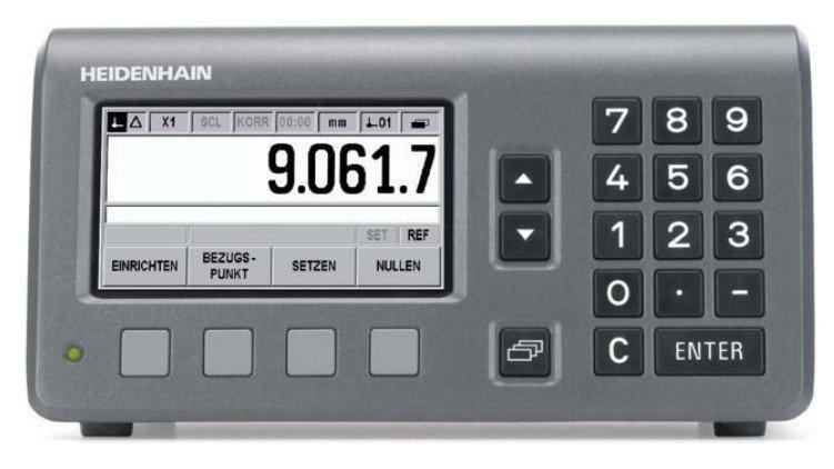 ND 280 系列 数显装置 - ND 280 海德汉 单轴数显装置