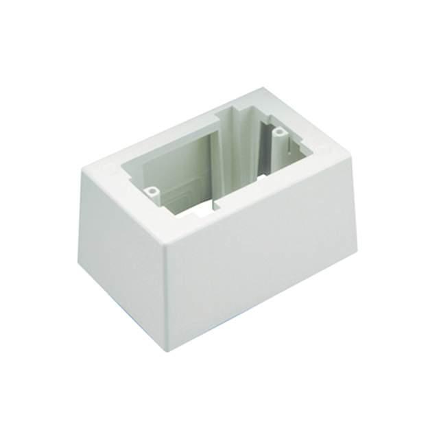 JUNCTION BOX 1 GANG ADH WHITE - Panduit Corp JB1DAW-A