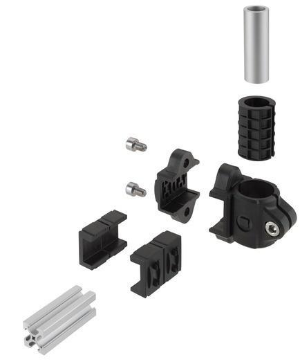 Raccordi per tubi in plastica - Light clamps -