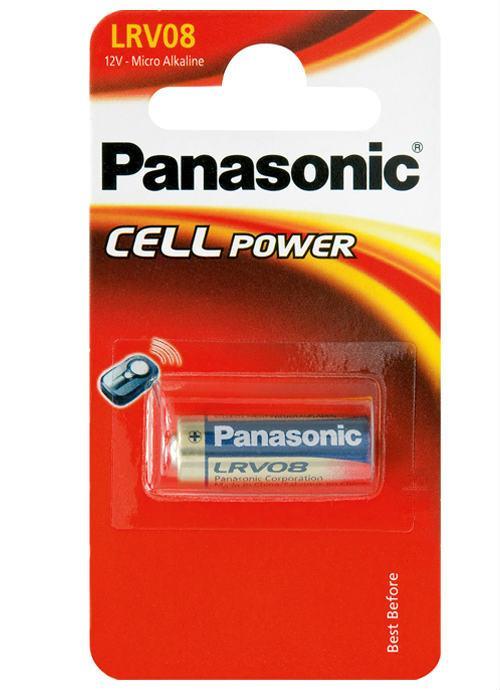 Microbatterie alcaline LRV08 - LRV08/1BP | Blister da 1 microbatteria alcalina Panasonic