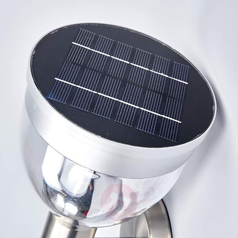 Solar-powered LED outdoor wall light Eda - Solar Lights