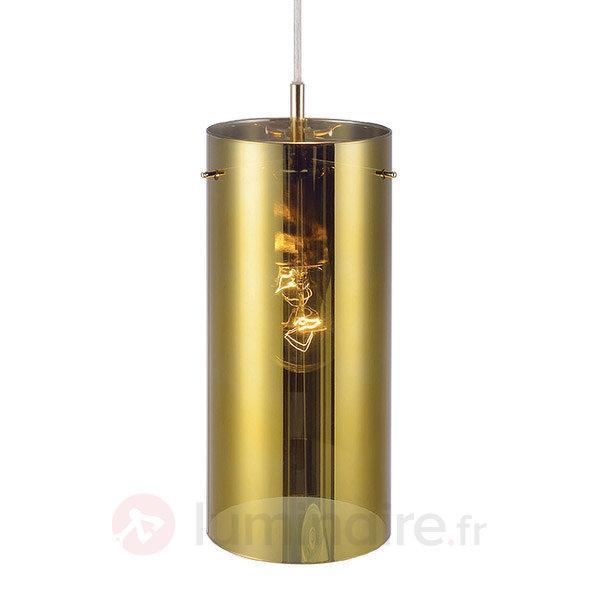 Suspension en verre dorée Storm - Suspensions en verre