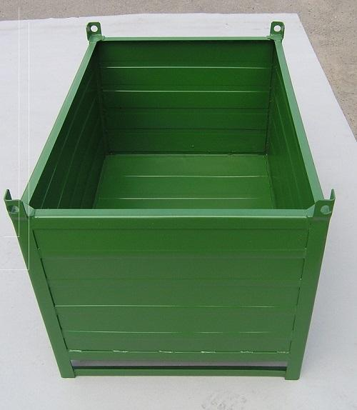 Контейнер закрытого типа - для перемещения и хранения крупных грузов, метизов, производственных отходов, ст