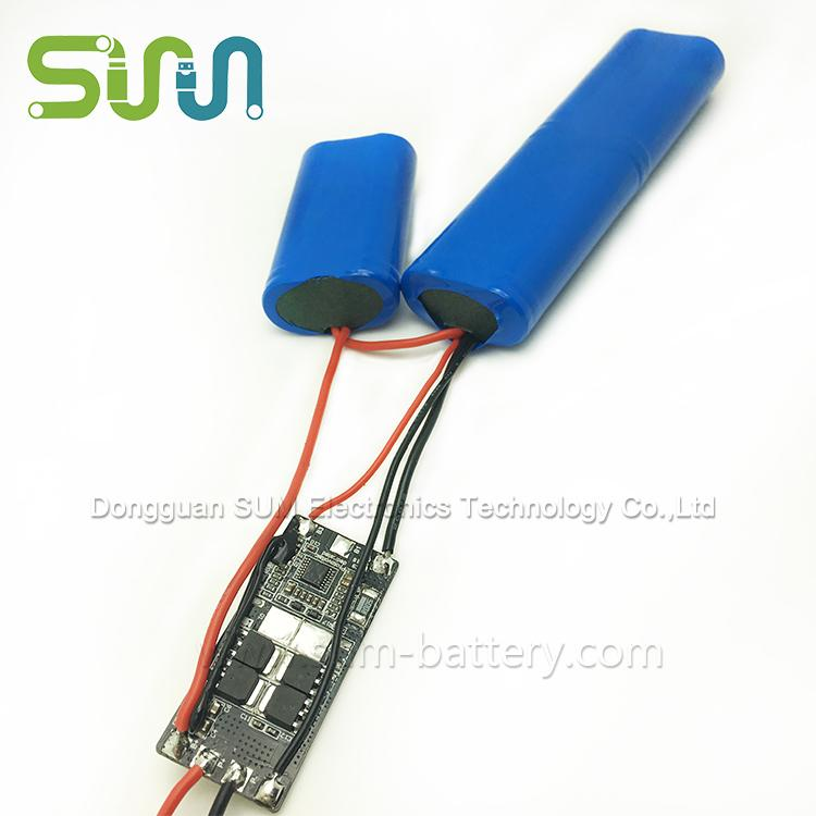 Portable Hair Dryer Battery - 18650-3S2P Portable Hair Dryer lithium Battery pack
