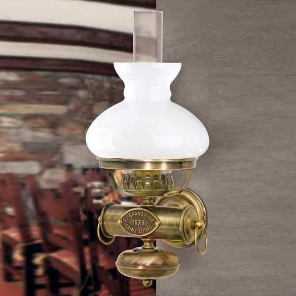 Antique brass wall light APHRODITE - Wall Lights