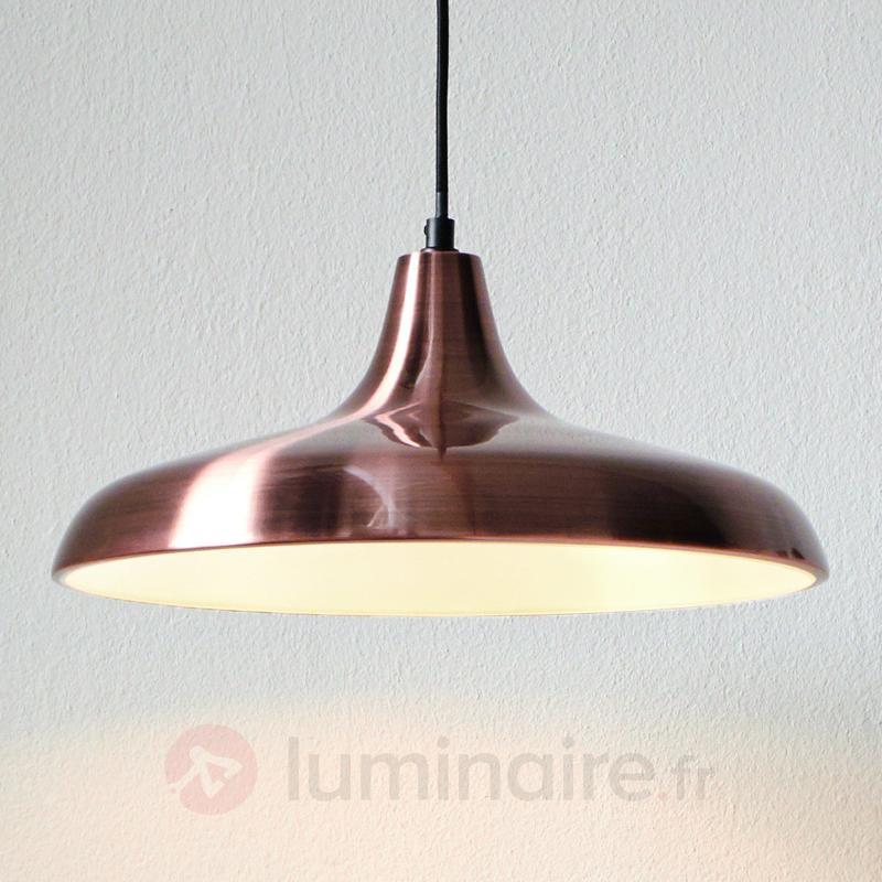 Suspension tendance Surrey, finition cuivre - Cuisine et salle à manger