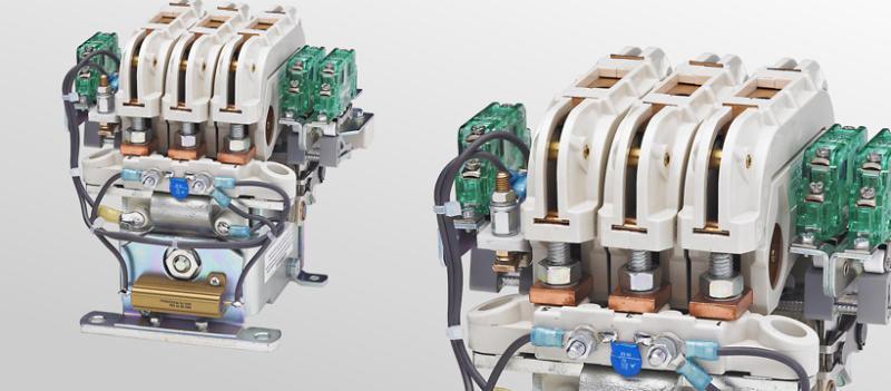 Cam contactors C152/C153/C154 - Multi-pole cam contactors for voltages up to 450 V