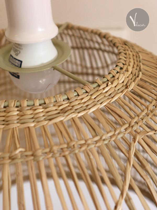 Bell-shaped Seagrass Pendant Light - Shop