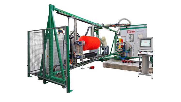 Sondermaschinen für besondere Bürsten -