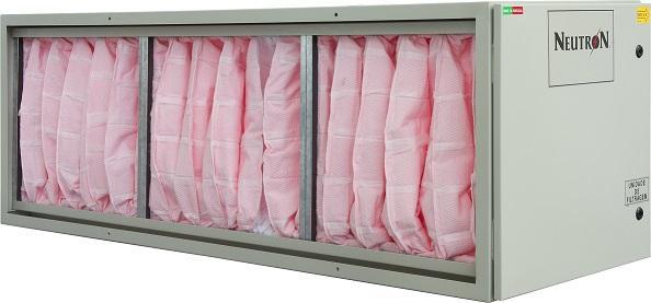 NEUTRON Módulo de Filtragem/NEUTRON Module Bag Filter - Módulo equipado com filtros de bolsas F7