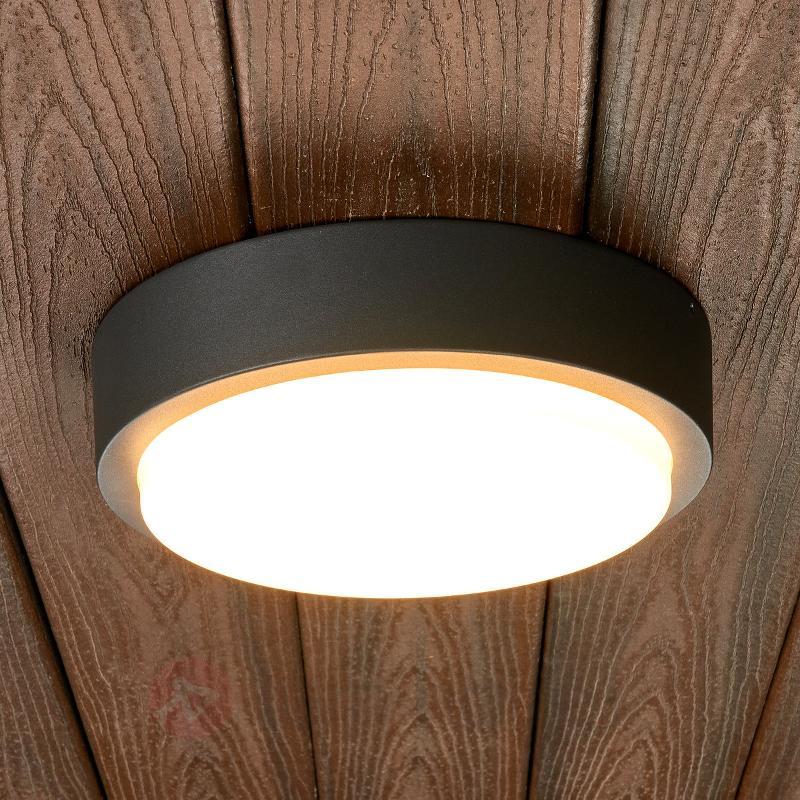 Applique d'extérieur LED ronde Maxine - null