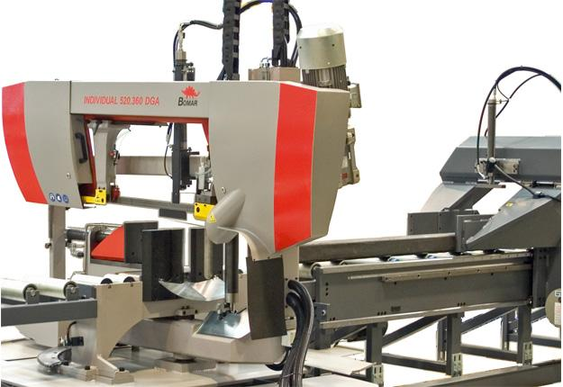Scie à ruban automatique  - à CN 2 axes - INDIVIDUAL 620.460 DGA