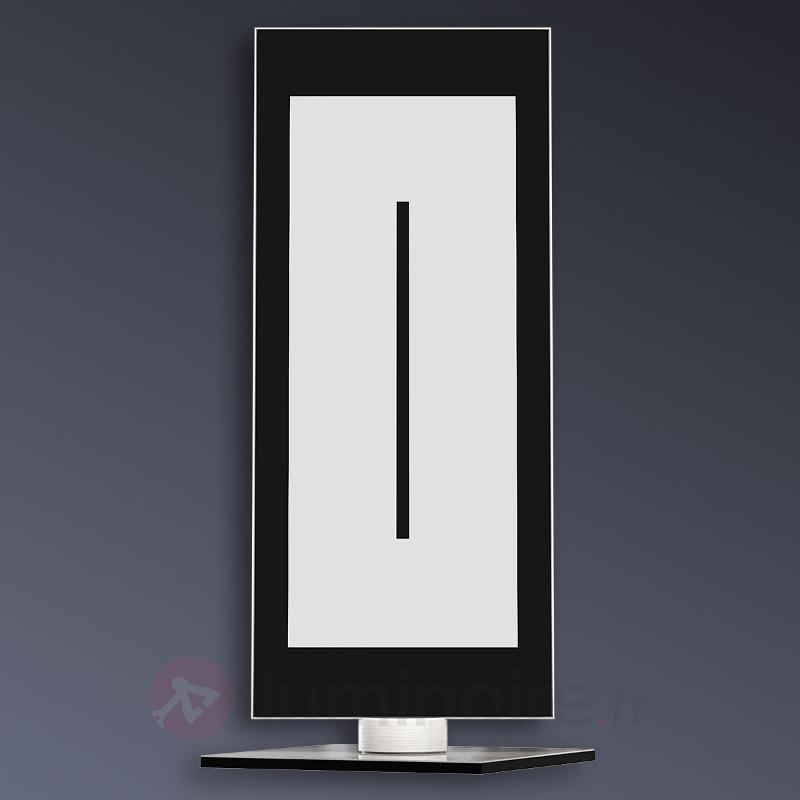 Lampe à poser LED Zen contrôlée à distance/couleur - Lampes à poser LED