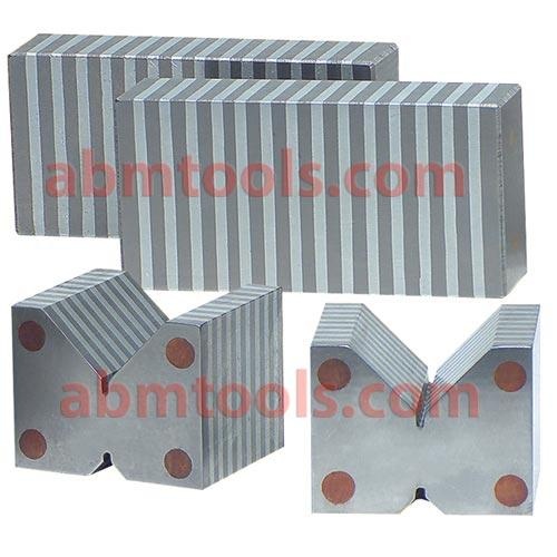 Magnetic Chuck Parallels and Universal V Blocks -