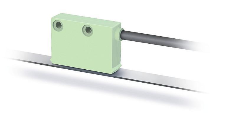 磁性传感器 MSK2000 - 磁性传感器 MSK2000, 紧密型传感器,增量式,数字接口,分辨率 0.25 毫米