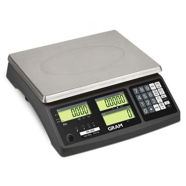 Balance Compte pièces RK 3,6,15,30Kgs - Balances compteuses
