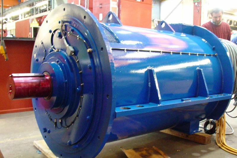 Asynchronous Motor For Climatic Tunnel Test Rig - null
