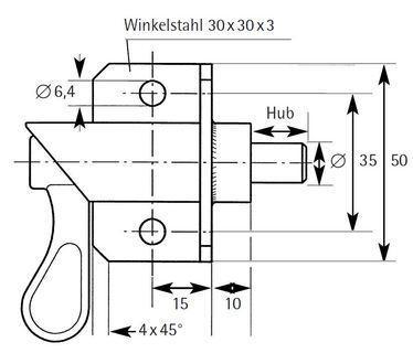 Typ S-W - S 1010 W 30x30x3x50 R/L