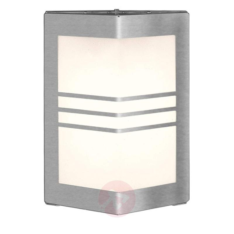 Wall lamp MEDI - stainless-steel-outdoor-wall-lights