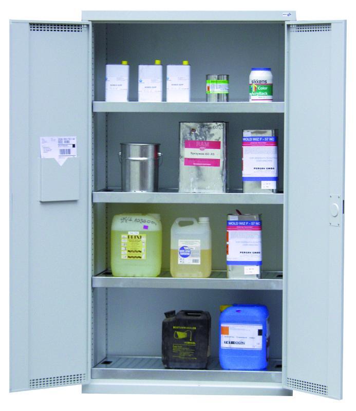 Umweltschrank Typ 10/20 mit Wannenböden und DIBt-Zulassung - null