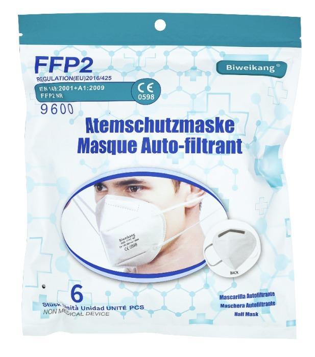 BWK-9600-FFP2 NR Face Mask -