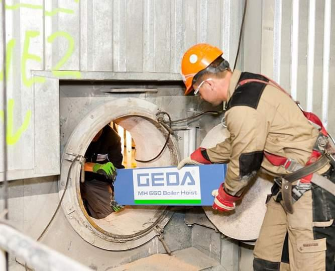 GEDA 300 Z Boiler Hoist - GEDA 300 Z Boiler Hoist - Materialaufzüge