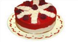 Vacherin crème framboise - Desserts glacées biologiques et surgelés