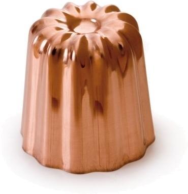 Moule à Cannelé de Bordeaux en cuivre intérieur étamé - Le meilleur moule pour réussir tous vos cannelés. Qualité PRO
