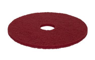 """5 Disques Rouges 17"""" - Spray - Accessoires autolaveuses"""
