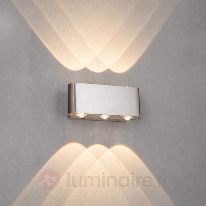 Applique LED Dilara avec éclairage sextuplé - Appliques LED