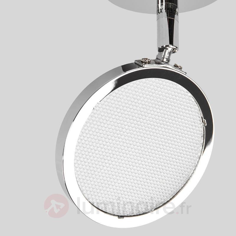 Plafonnier et applique LED chromé Hazel - Appliques LED