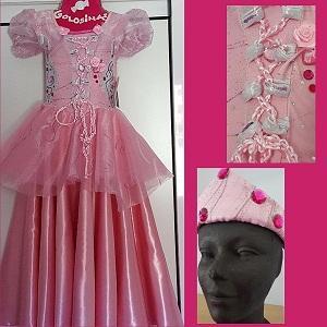 Vestido de fantasía - princesas