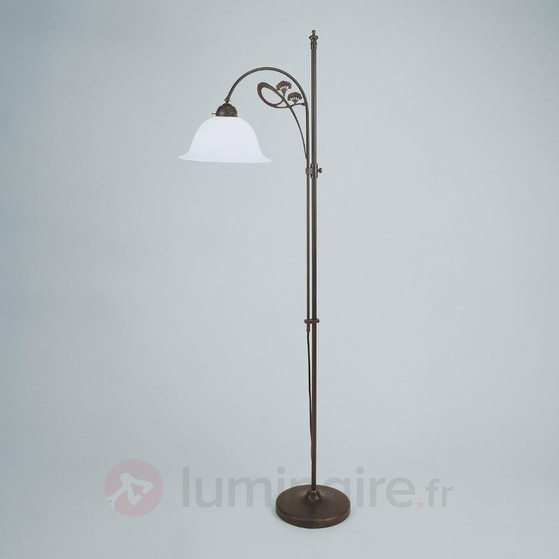 Lampadaire délicat Ilka coloris antique - Lampadaires rustiques