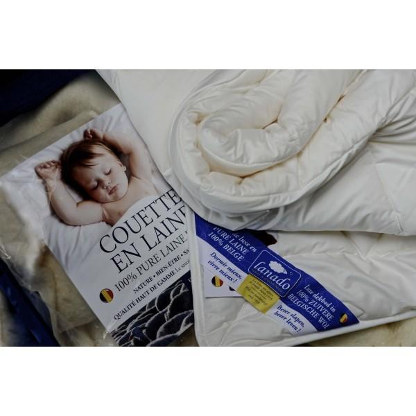 COUETTE BABY SUPER WOOL LAVABLE - Pour un lit bébé à barreaux