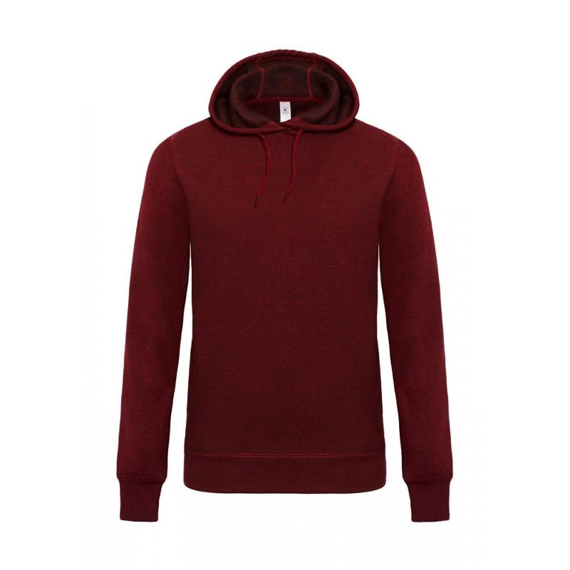 Sweatshirt look Dark Heather - Avec capuche