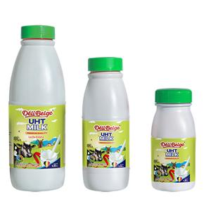 DeliBelge UHT Skimmed  Milk in bottle 1.5%